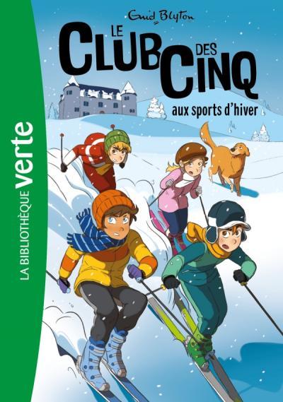 Le Club des Cinq 09 NED - Le Club des Cinq aux sports d'hiver