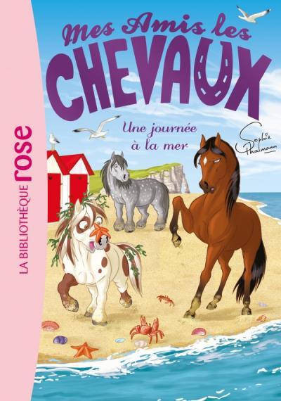Mes amis les chevaux 14 - Une journée à la mer