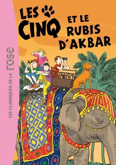 Les Cinq 35 - Les Cinq et le rubis D'Abkar