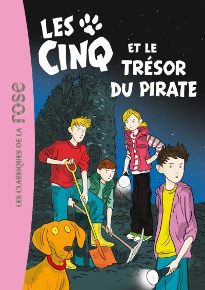 Les Cinq 41 - Les Cinq et le trésor du pirate