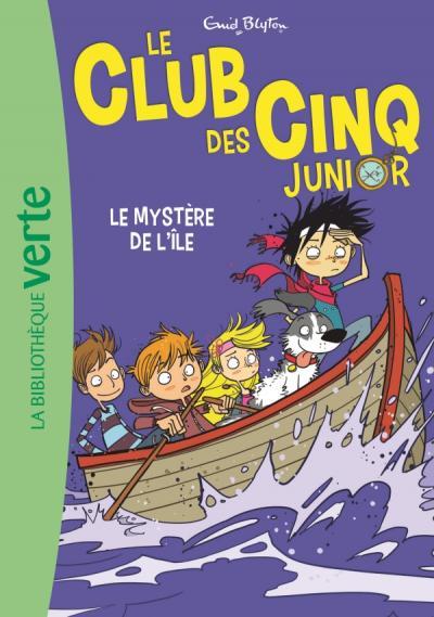 Le Club des Cinq Junior 02 - Le Mystère de l'île