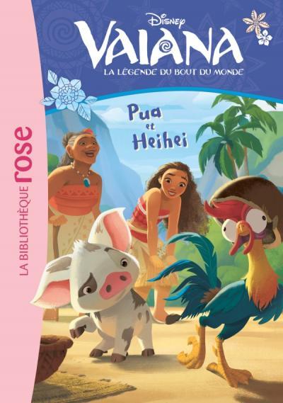 Vaiana 01 - Pua et Heihei