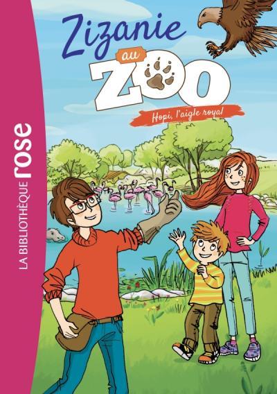 Zizanie au zoo 02 - Hopi, l'aigle royal