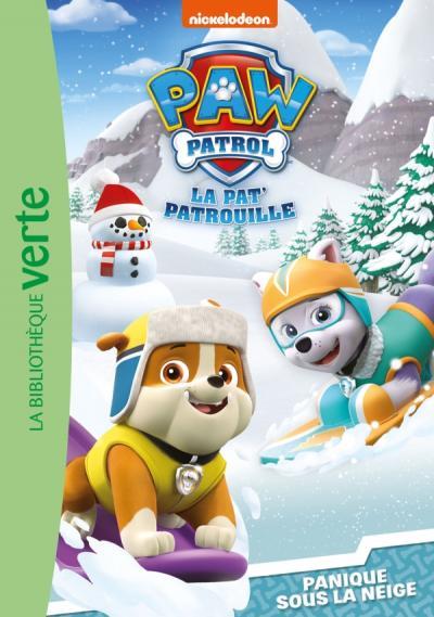 Paw Patrol-La Pat'Patrouille 09 - Panique sous la neige