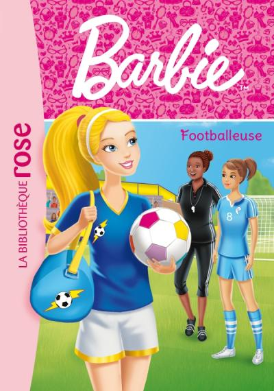 Barbie - Métiers 13 - Footballeuse