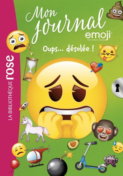 Emoji TM mon journal 08 - Oups... Désolée !
