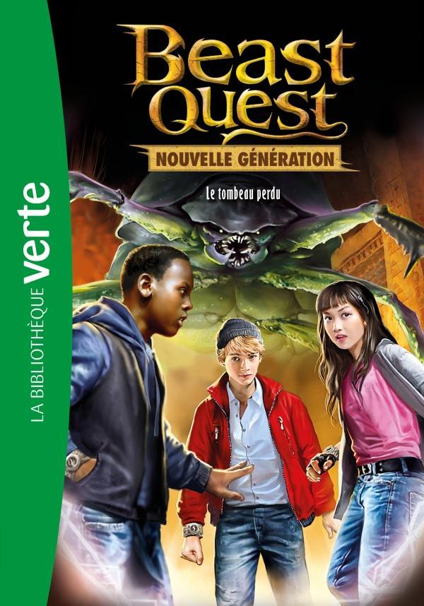 Beast Quest - Nouvelle génération 03 - Le tombeau perdu