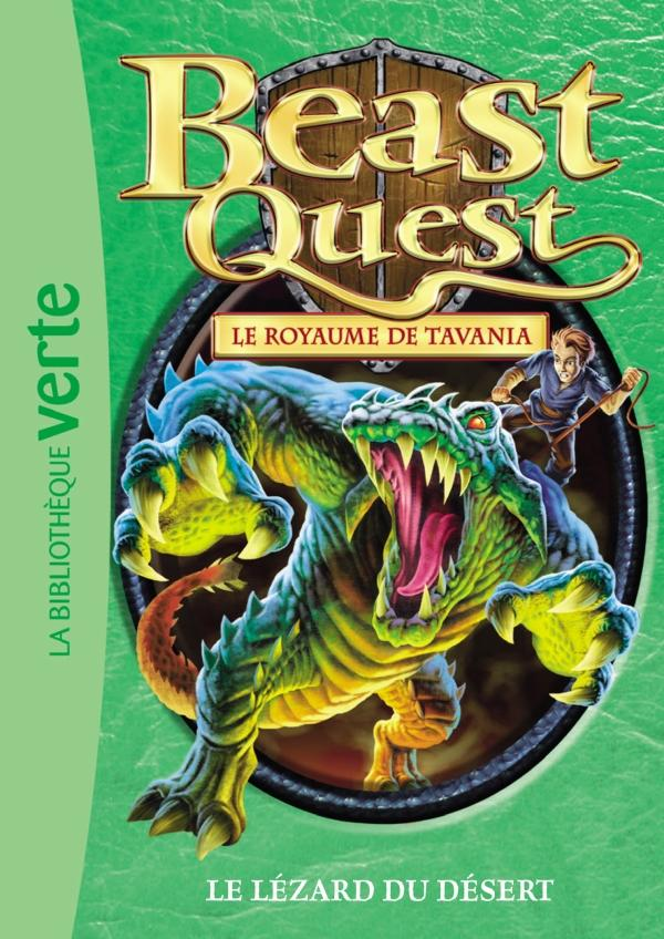 Beast Quest 41 - Le lézard du désert
