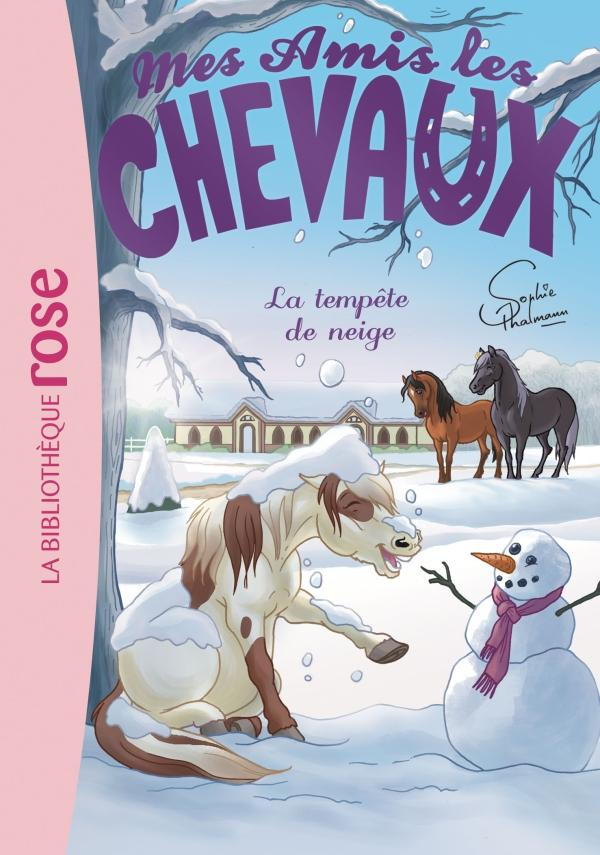 Mes amis les chevaux 25 - La Tempête de neige