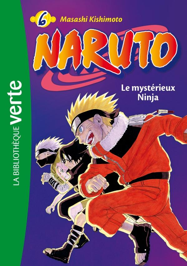 Naruto 06 NED - Le mystérieux Ninja