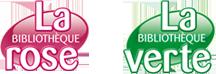 Bibliothèque Rose & Verte